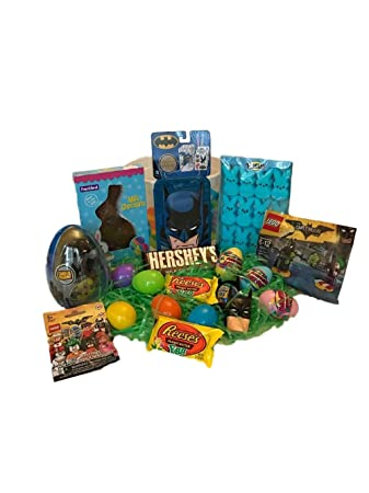 Amazon batman easter basket for boys with lego batman toys batman easter basket for boys with lego batman toys candy and easter eggs negle Choice Image