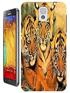 Tiger Case Cover Hard Back Cases Beautiful Nice Cute Animal hot selling cell phone cases for Samsung Galaxy Note 3 # 8 Kimberly Kurzendoerfer
