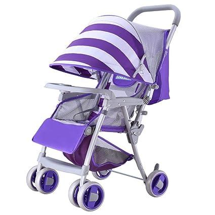 Olydmsky Carro Bebe,Bebé Silla de Paseo Super Ligera Plegable Carrito de bebé Coche niños