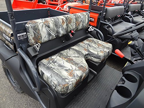 Camo Atv Seat Covers - Durafit Seat Covers, Kubota RTV 400/500 ATVs & Utility Vehicle, Camo Seat Covers, Endura Fabric