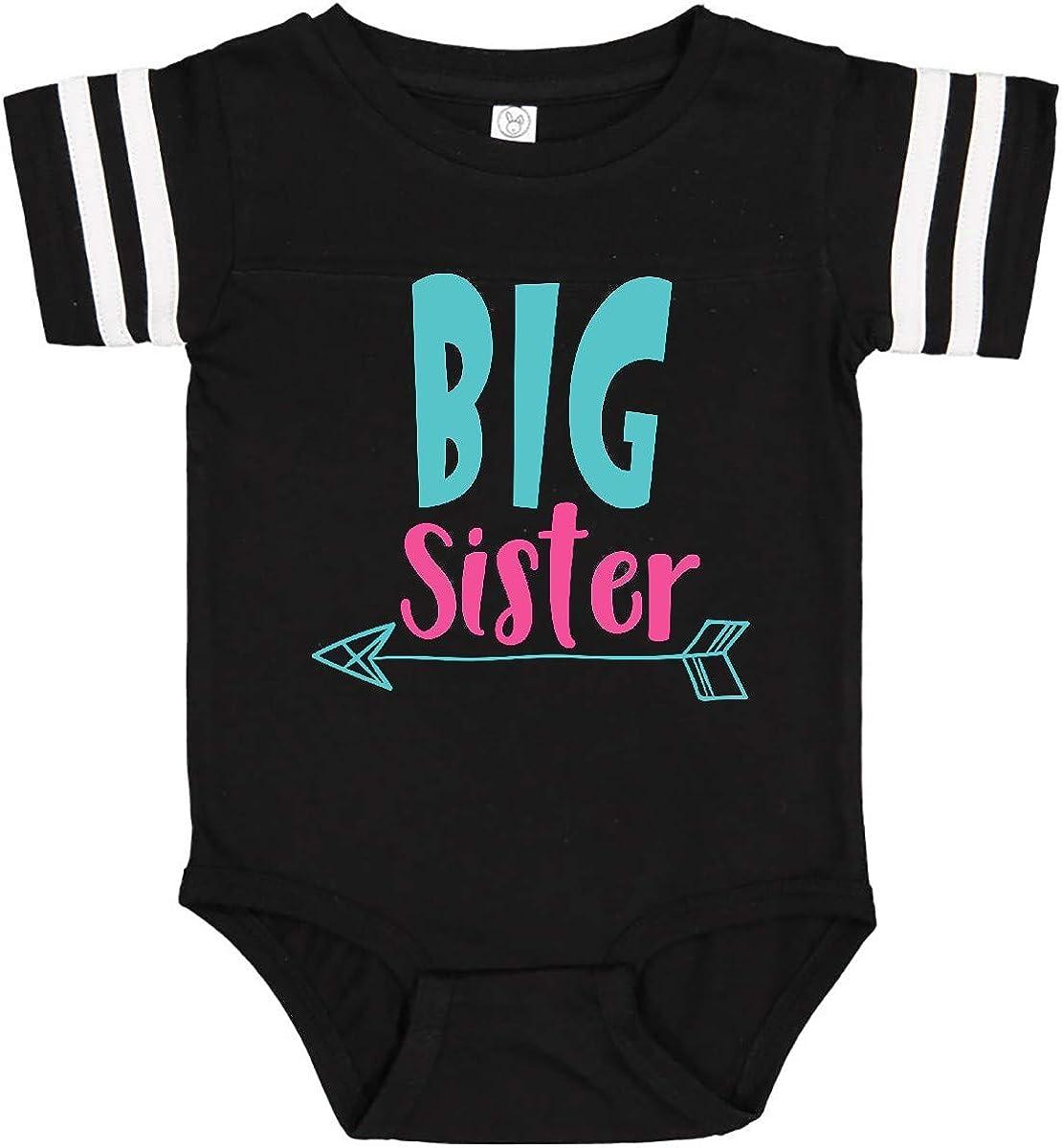 Arrow Blue Pink Infant Creeper Older Sister inktastic Big Sister