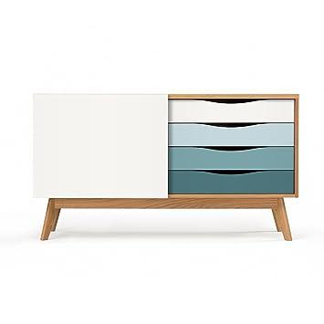 Moebla Woodman Sideboard Tv Kommode Anrichte Für Wohnzimmer