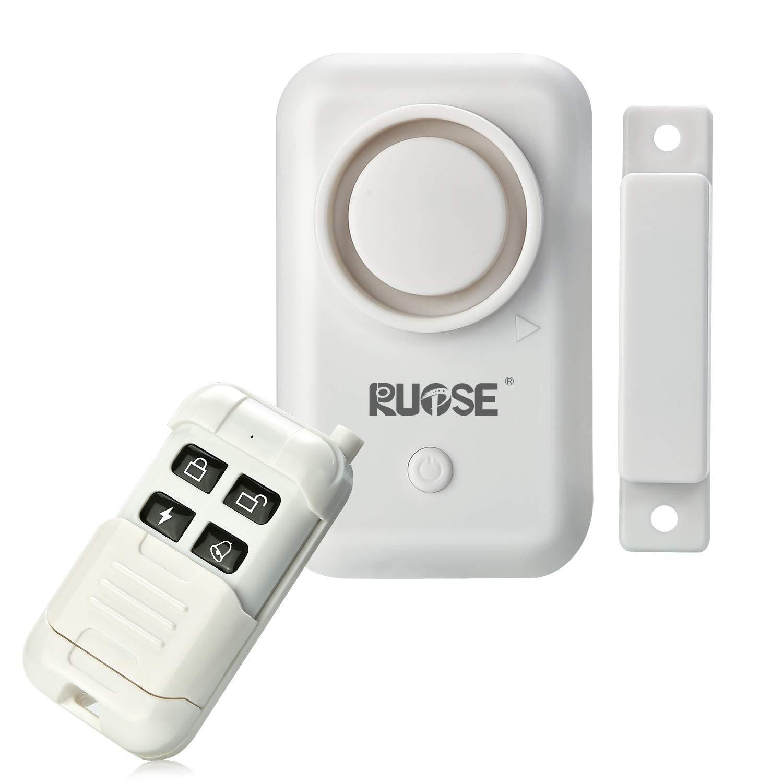 Rupse Alarma magnética del Coche/de la Puerta/de la Ventana Sensor de Contacto de Seguridad Control Remoto inalámbrico para el ladrón del hogar y del ...