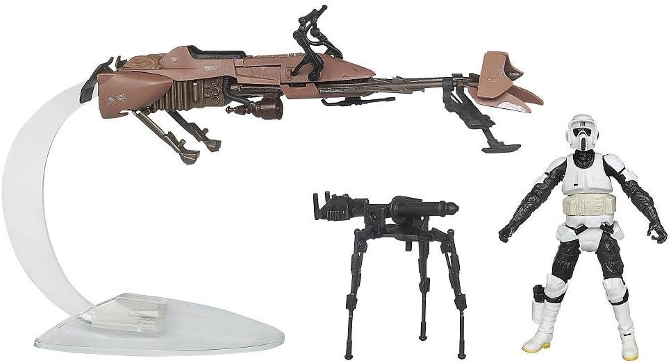 Hasbro Star Wars Speeder - Bicicleta con Scout Trooper Toys R Us Exclusivo 2012: Amazon.es: Juguetes y juegos