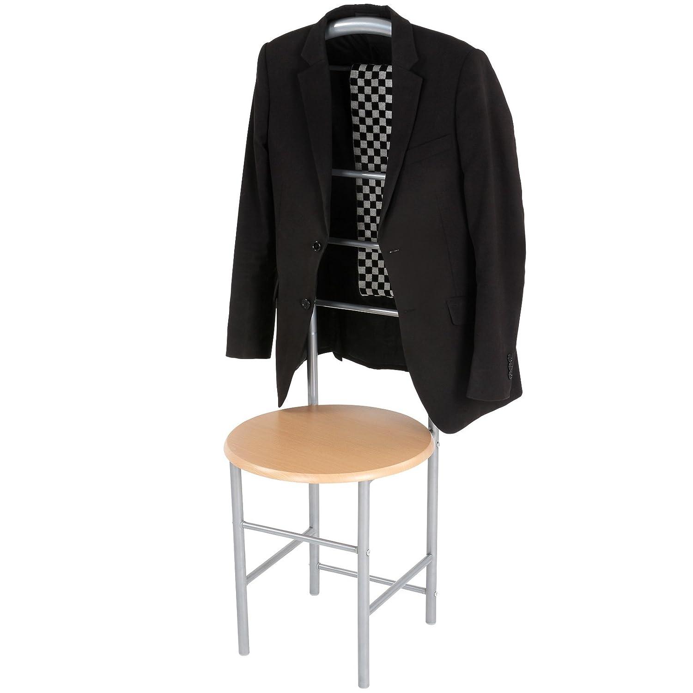 Miadomodo Appendiabiti servomuto indossatore porta abiti camera sedia set da 2 Amazon Casa e cucina