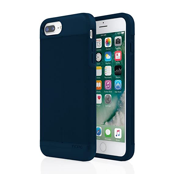 info for dc90e 8fcd1 iPhone 7 Plus Case, Incipio Wallet Case for iPhone 7 Plus-Heather Navy