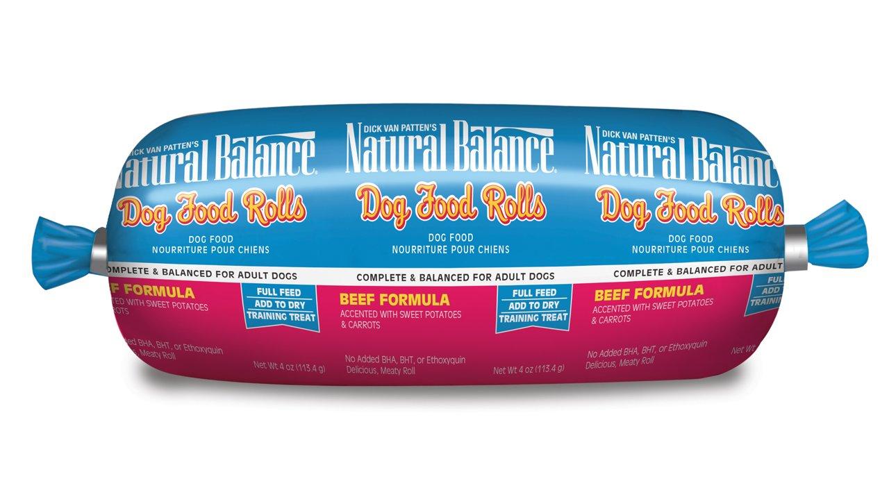 Dick Van Patten's Natural Balance® Beef Formula Dog Food Roll, 4-Ounce