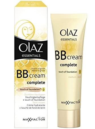 3x Olaz Essentials Bb Cream Touch Of Foundation Lsf 15 Dunklere