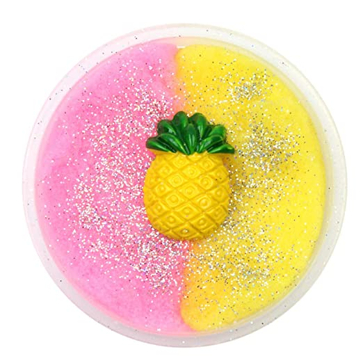 Toys & Hobbies New Cute Cartoon 2018 Colorful Strawberry Mixing Cloud Cotton Candy Slime Scented Stress Kids Clay Toy