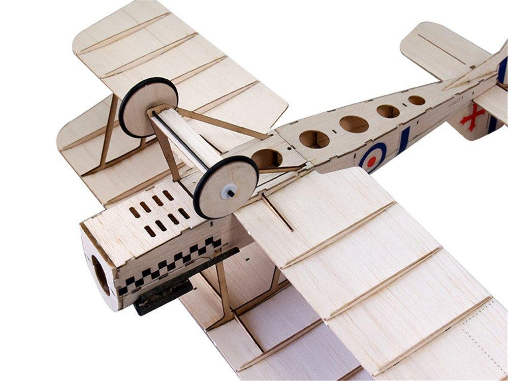 Micro Indoor & Park Fly RC Aeroplane, SE5A Balsa wood Plane