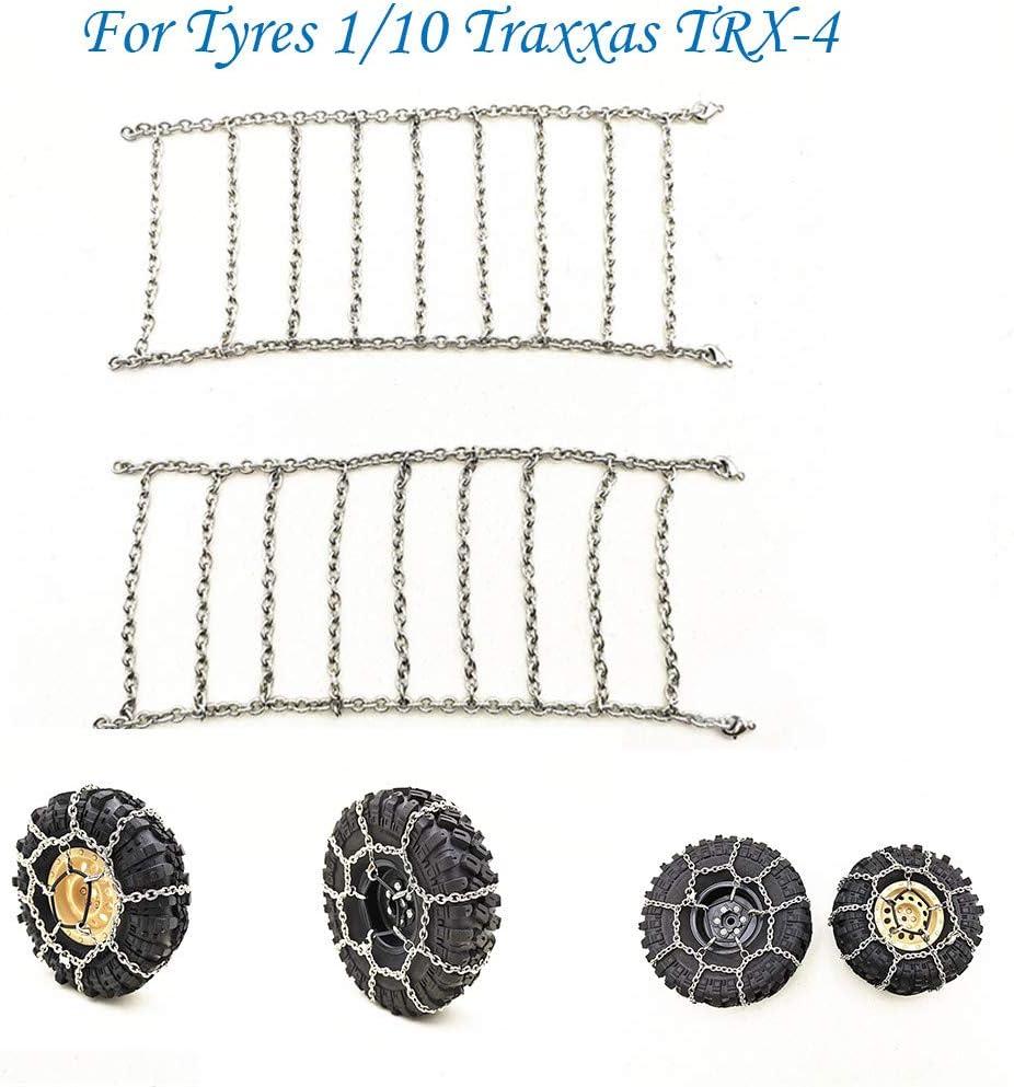 TianranRT - Cadenas de nieve y metal antideslizantes para ...