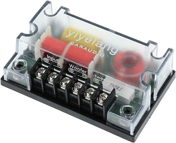 Shiwaki Auto 2 Wege Lautsprecher Frequenzweiche Elektronik