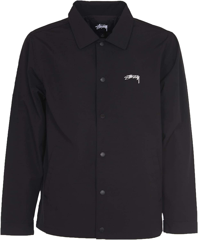 Stussy - Chaqueta de camisa negra negro XL: Amazon.es: Ropa y accesorios