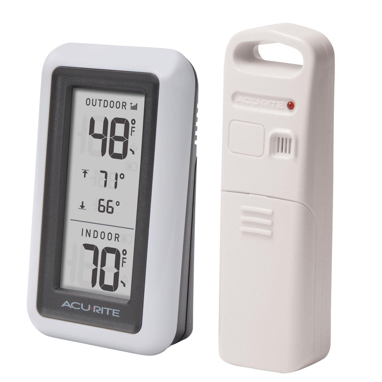 amazon com acurite 00424ca digital thermometer with indoor