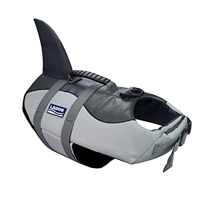 A-MORE Dog Life Jackets Dog Saver Life Jacket Dog Swimming Vest Adjustable Life Jacket