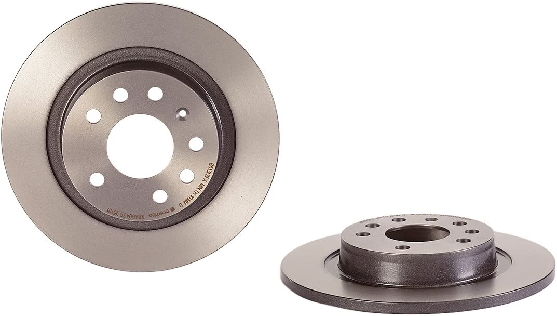 Set of 2 Brembo 08.9488.11 Rear Uv Coated Brake Disc