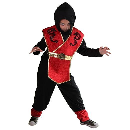 Amazon.com: Storybook Wishes Boys Black and Red Ninja ...
