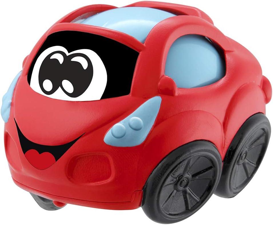 Chicco Turbo Ball - Coche de juguete especial bebés, con bola en interior, color rojo