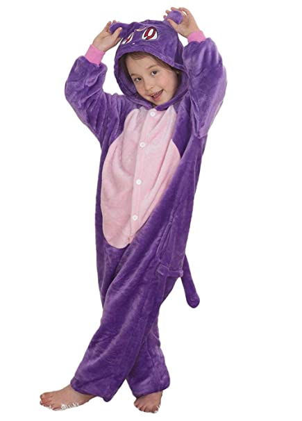 Niños Pijama Kigurumi Animal Cosplay Disfraces Animados Gato Ropa de Dormir para Unisex Altura Entre 9, 0 y 1, 48 m: Amazon.es: Ropa y accesorios