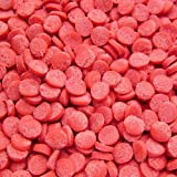Natural Red Gluten GMO Nuts Dairy Soy Free Confetti Sequins Bulk Pack.