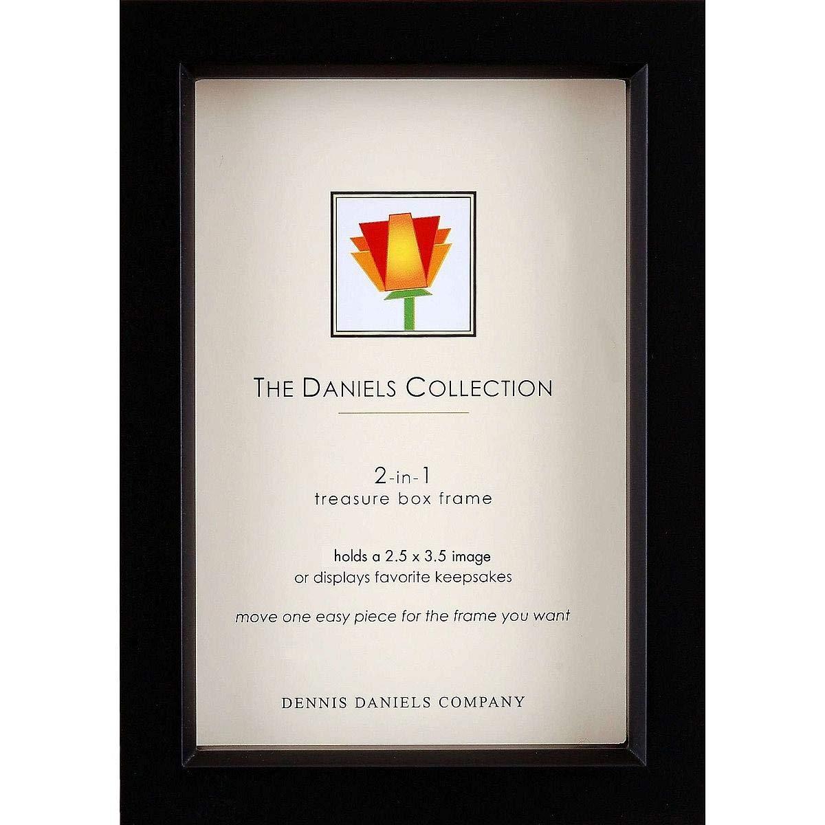 Dennis Daniels Wood Treasure Box Picture Frame, 2.5
