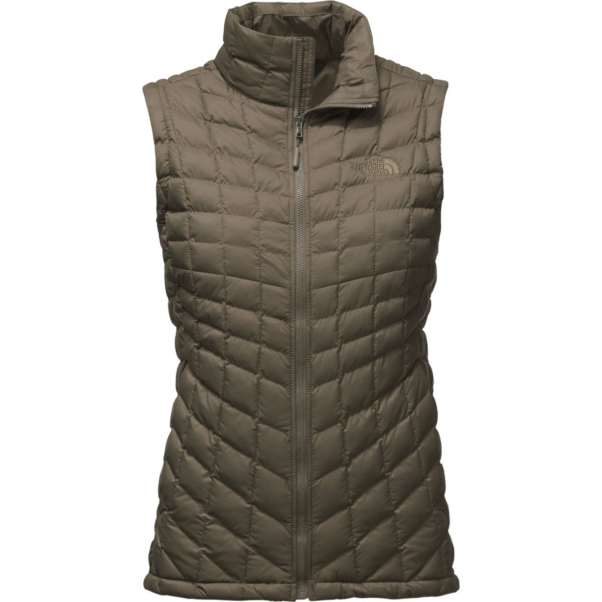The North Face Women's Thermoball Vest - New Taupe Green Matte - M (Past Season)