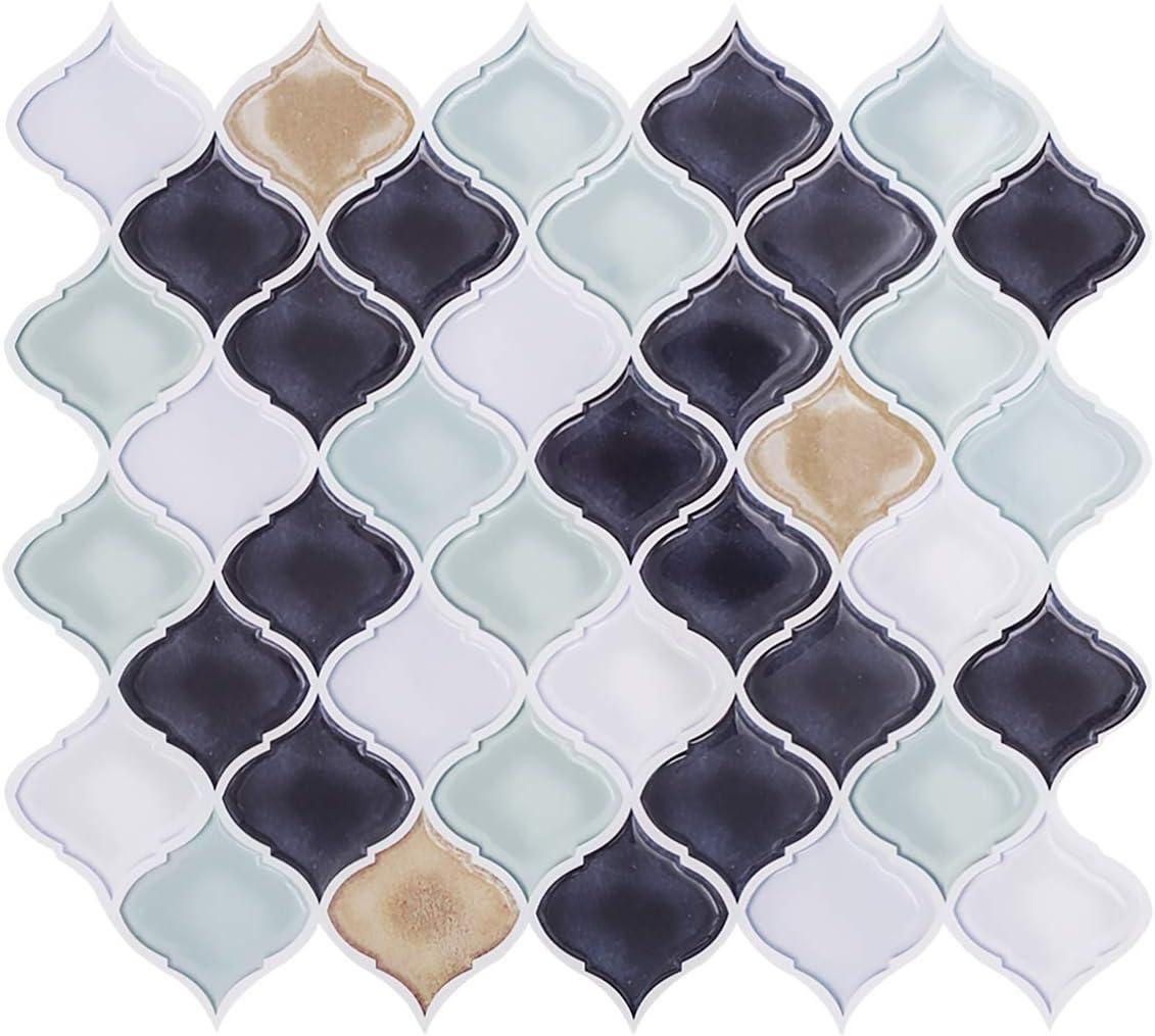 - Amazon.com: VIVID TREE Peel And Stick Tile Backsplash Arabesque