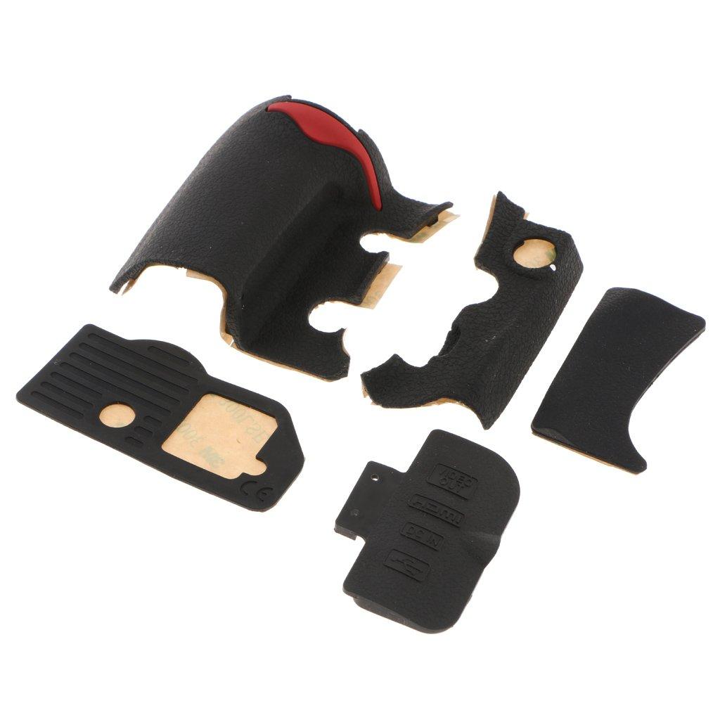 MagiDeal 5pcs Unidad de Goma USB de Agarre para Cubierta Trasera Delantera Nikon D300 con Cinta
