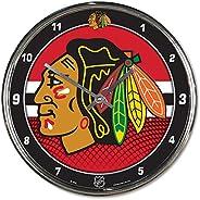 """NHL Chrome Clock, 12"""""""