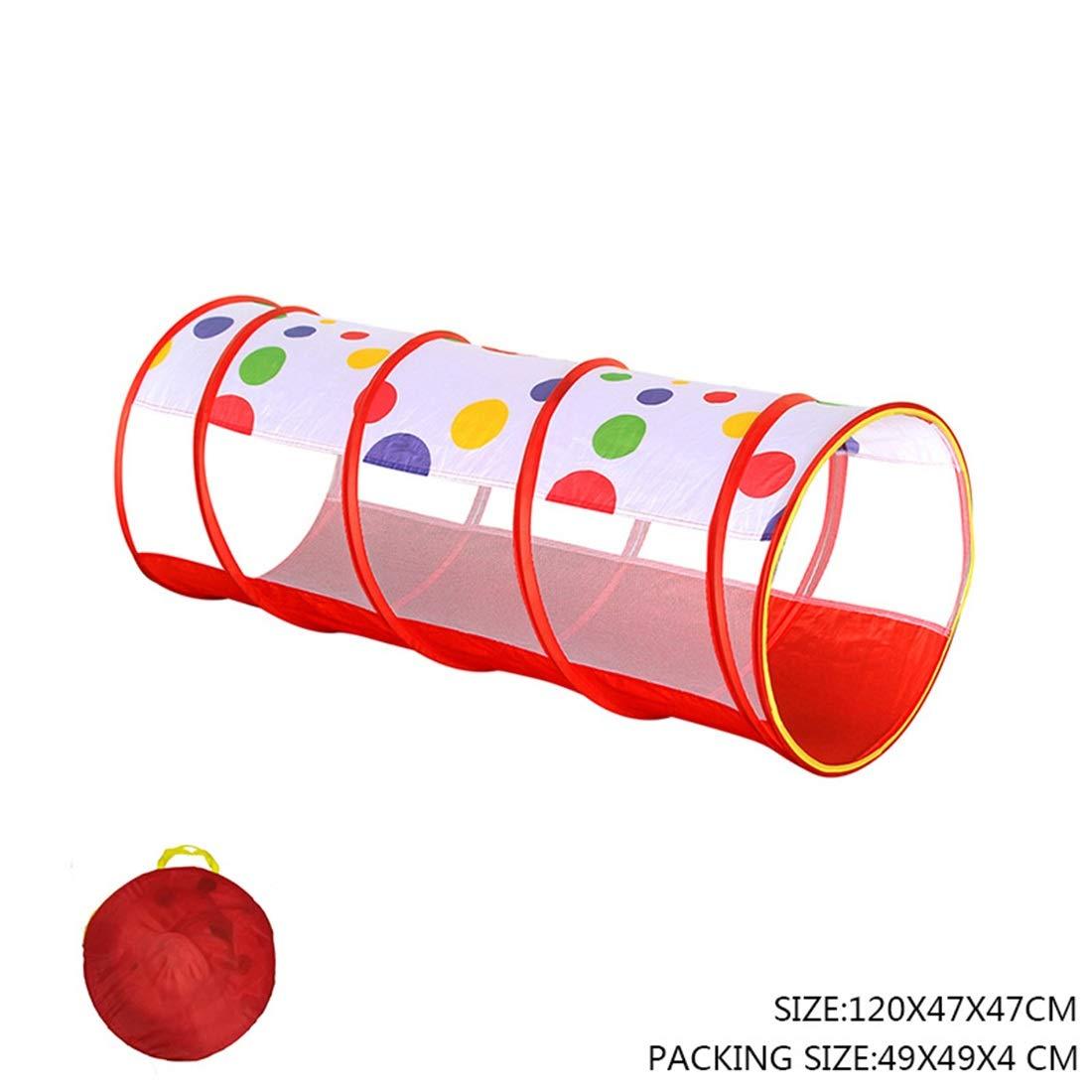Nekovan 子供のテントのトンネル折りたたみポータブルマジック赤ちゃんのおもちゃの部屋ドリルホールチューブクライミングチューブ B07R7H92YQ レッド、日光クロールトンネル (色 : レッド) レッド Nekovan B07R7H92YQ, あみのエーワン:390ee7c2 --- number-directory.top