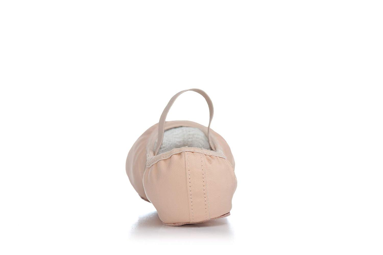 Adult Spandex Arch Leather Split-Sole Ballet Shoes T2800