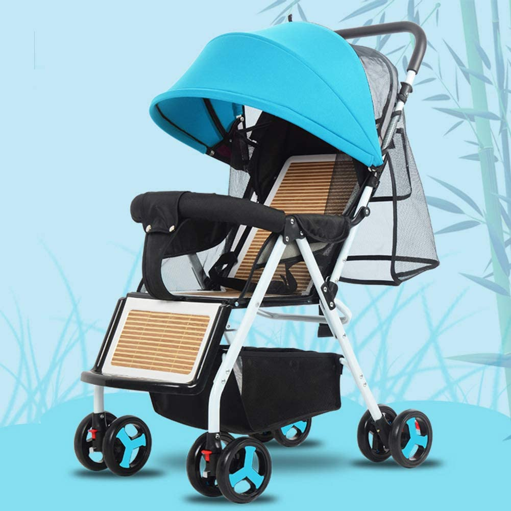 Silla Plegable Ligera,stroller Lavable Baby Discovery Four Seasons Universal Baby Stroller-e
