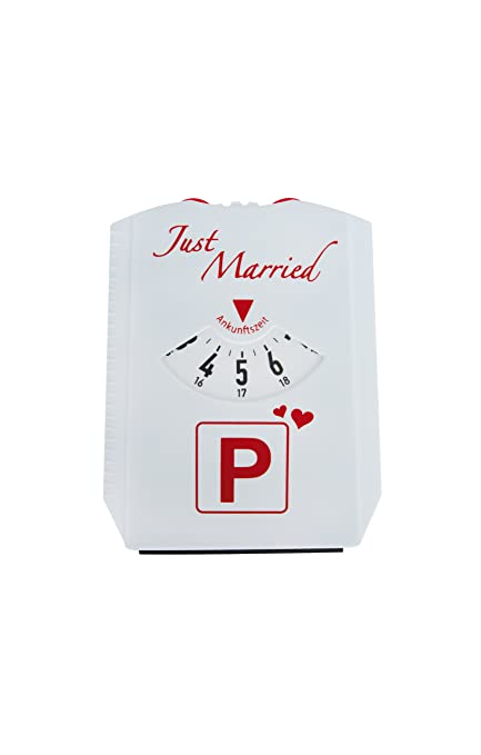 Trend Import 10537700 Just Married Parkscheibe