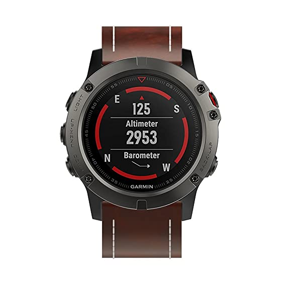 Amazon.com: Garmin Fenix 5X GPS Smartwatch Replacement Strap ...