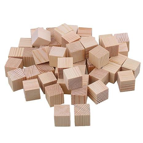 BQLZR, tavolette di legno non verniciate, ideali per fai da te ...