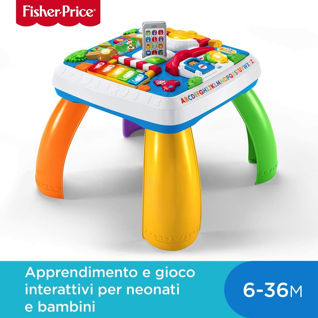 62cb5182cd Fisher-Price Tavolino attività della Città con 3 Livelli Livelli Livelli di  Gioco Che Crescono con Il Bambino ...