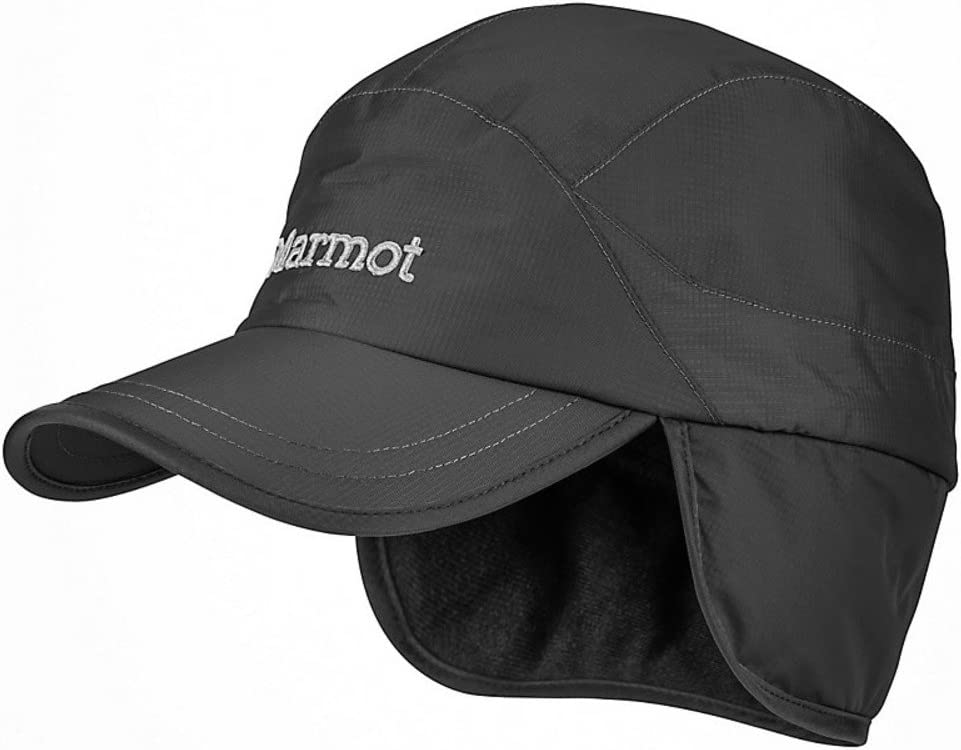 Marmot Unisexs PreCip Insulated Baseball Cap L-XL Black
