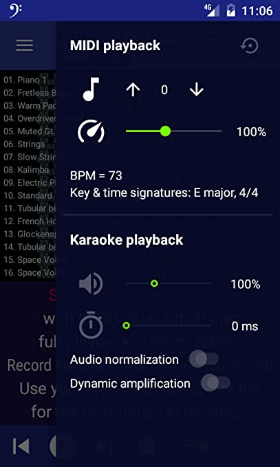 Amazon com: MIDI Clef Karaoke Player: Appstore for Android