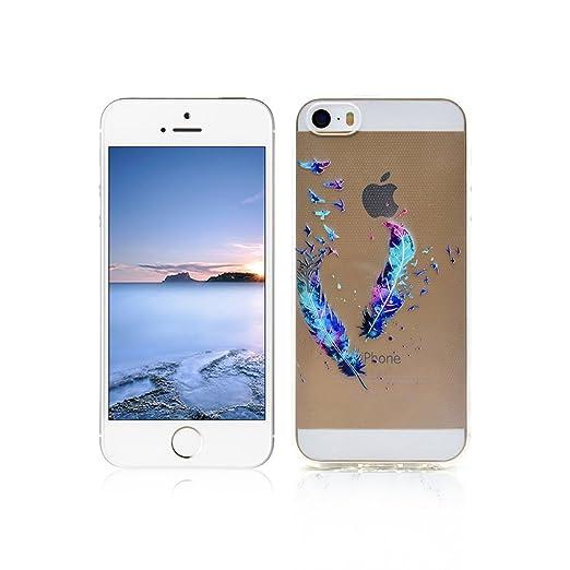 51 opinioni per Cover iPhone 5s Custodia TPU Silicone OuDu Cover iPhone 5 Cassa Gomma Soft