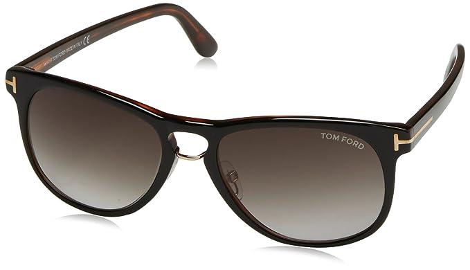 Tom Ford Franklin Sonnenbrille Schwarz & Tortoise 01V 55mm JQjNZ4