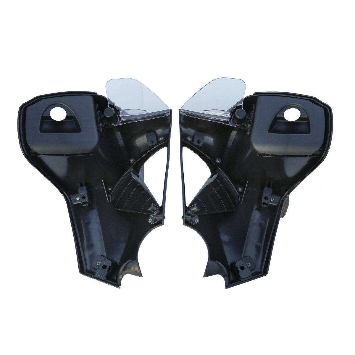 XFMT Black Hard Lower Vented Fairing Inner Kit For Indian Chieftain 2014-2016 2018 15
