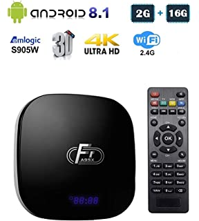 T95Q Android 8 1 TV BOX 4GB RAM 64GB ROM Amlogic S905X2: Amazon co