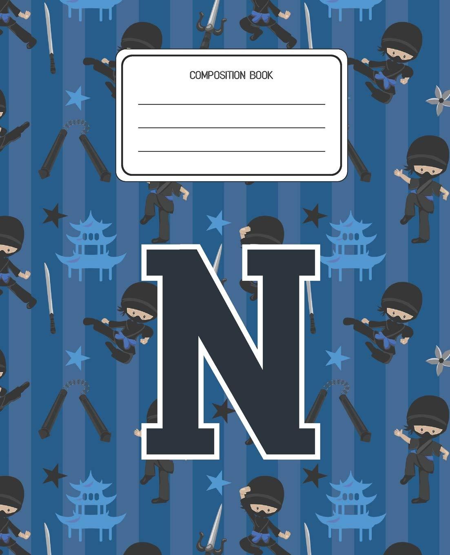 Amazon.com: Composition Book N: Ninja Pattern Composition ...