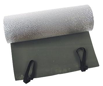 Fox Outdoor - Esterilla de camping con aislante de aluminio (200 x 50 cm,