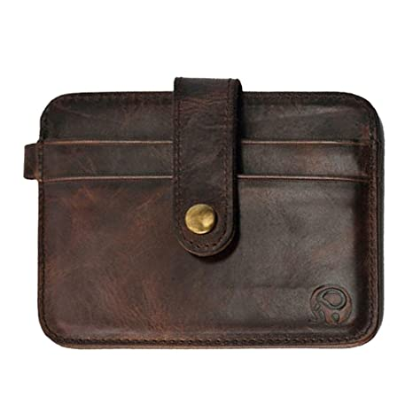 69dd296cc54f Generic Brown Credit Card Case  Amazon.in  Bags