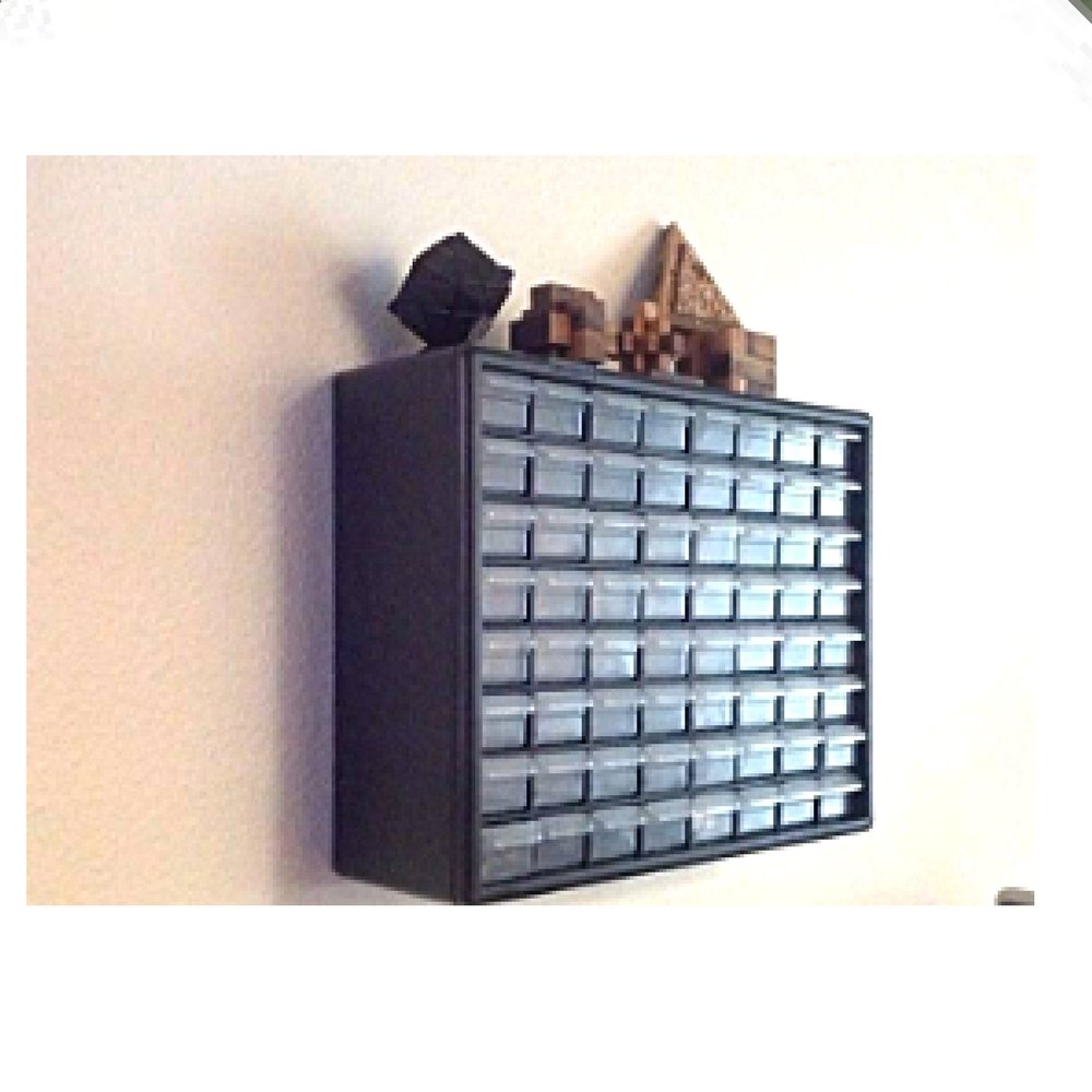 Garage Wall Storage Cabinet Multi Drawer Mount Organizer Toolbox Kitchen Kit Hardware Clear Office & eBook by OISTRIA