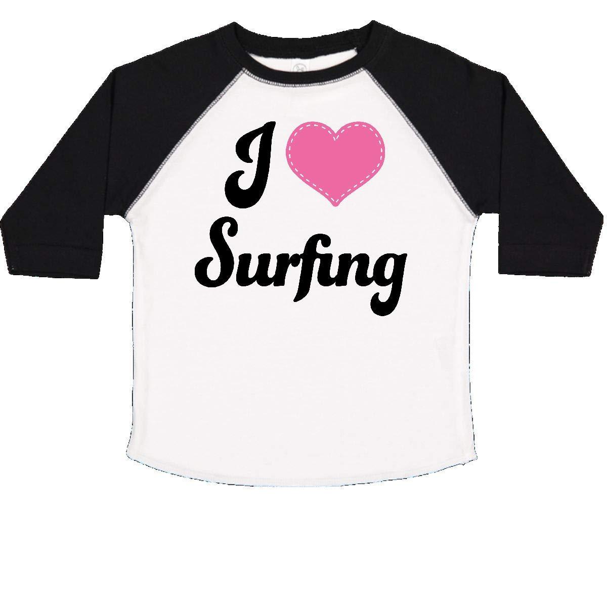 inktastic I Love Surfing Toddler T-Shirt