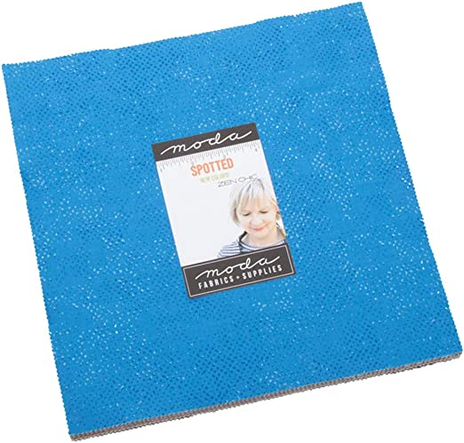 Moda Fabrics Zen Chic Spotted Layer Cake 42 10-inch Squares 1660LC