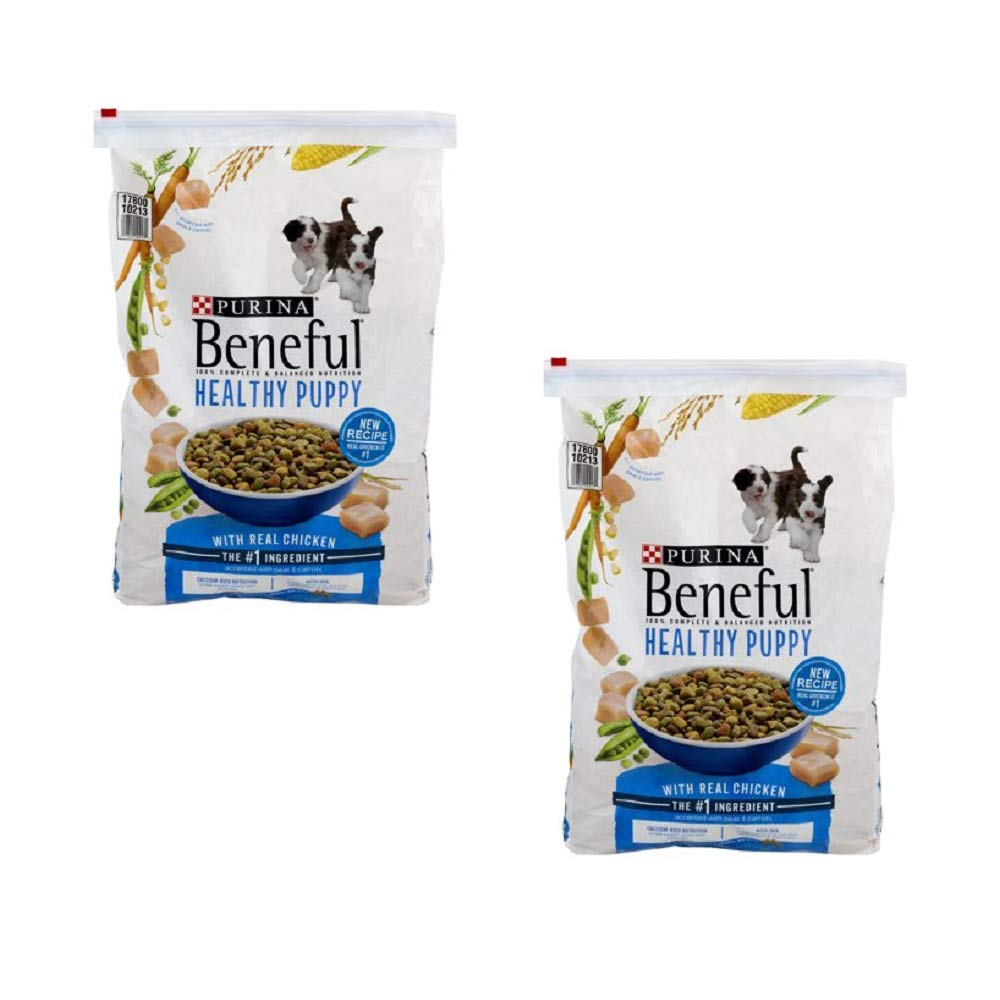 Purina Beneful IncrediBites for Small Dogs Adult Dry Dog Food (Healthy Puppy, 2 Pack (Each 15.5 lb.)) by Purina Beneful