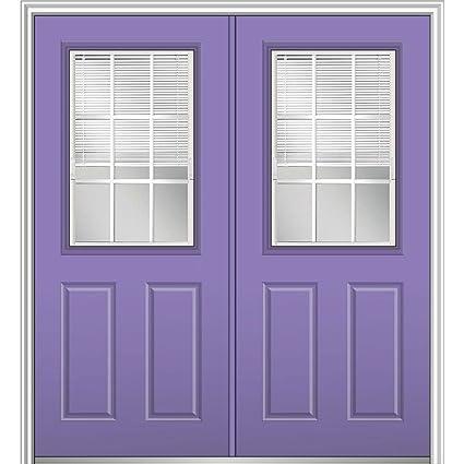 Superbe MMI Door 64 In. X 80 In. Internal Blinds GBG Low E Glass
